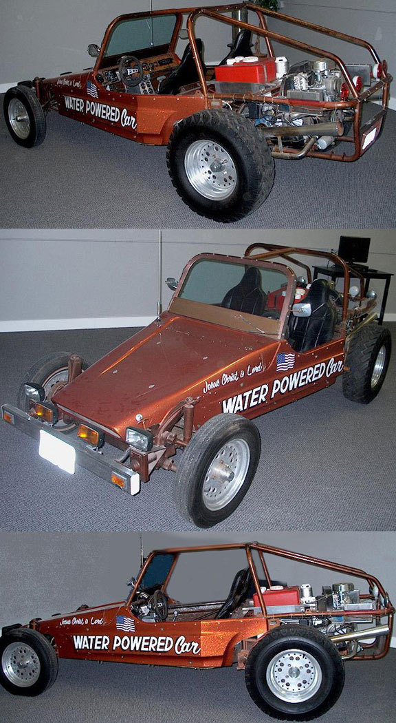 Water Powered Car