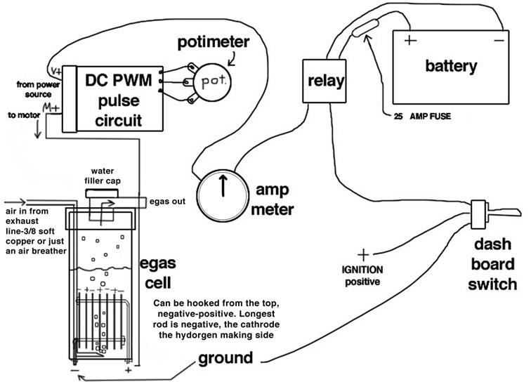 Hho Circuit Schematics